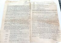 .MUSEUM QUALITY AUSTRALIAN POW TYPED LETTER. CAPTURE, BEATINGS, THOUGHTS QX19635