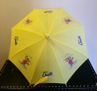 Vintage Kids Nestle Nesquik Rabbit Yellow Umbrella Rare