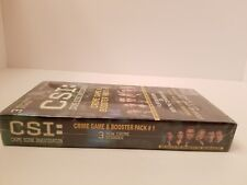 Crime Scene Investigation CSI Game and Booster Pack #1