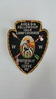 1966 Area 6A Fellowship Camp Cherokee Faitfully to Serve Order of the arrow