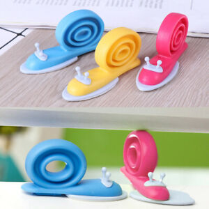 Rubber door stopper stop wedge security snail gates protection baby fingers BOD