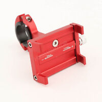 Red Aluminum Cell Phone Holder for Harley-Davidson Dyna Low Rider EFI FXDLI
