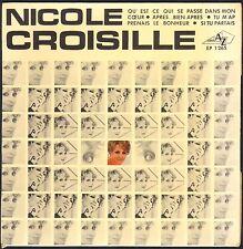 NICOLE CROISILLE RARE 45T EP Biem AZ 1265 Qu'est-ce qui se passe dans mon coeur?