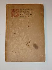 The Portrait of Mr. W. H. by Oscar Wilde, Thomas Mosher, 1901, Limited Edition
