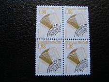 FRANCE - timbre yvert et tellier preoblitere n° 214 x4 n** (dent 13) (A24)