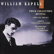 William Kapell Edition, Vol. 8: Frick Collection Recital: Copland: Sonata; Chopi