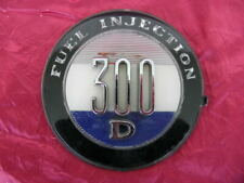 1958 Chrysler 300D Fuel Injection Emblem B C E F G H 1957 1959 1960 1961 1962