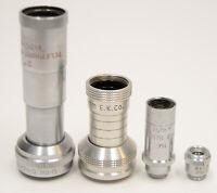 AS-IS Cine Kodak Bell & Howell Filmo Lens Finder Lot for D-Mount 8mm Cameras Vtg