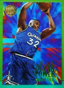Shaquille O'Neal insert card Ultra Power Gold Medallion 1995-96 Fleer Ultra #9