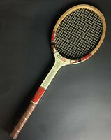 """Vintage All-Pro Classic Wooden Tennis Racket 4 1/2"""""""