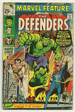 Marvel Feature 1971 #1 Very Good 1st Defenders