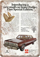 "1974 Dodge Dart Special Edition 10"" x 7"" Retro Look Metal Sign"