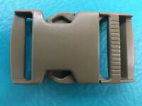 "1 ITW Nexus Camo 1.5""Buckle Backpack Webbing Strap Plastic Clip Tan Camo 1 1/2"""