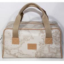 Borsa valigia Prima Classe Beauty case beige mappa viaggio media Alviero Martini