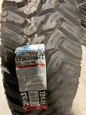 1 New LT 265 75 16 Cooper Discoverer STT 10 Ply Mud Tire