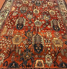 AN AWESOME NORTH WEST PERSIAN ANTIQUE RUG