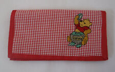 Disney Winnie The Pooh Embroidered Wallet New