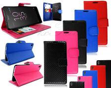 Fundas con tapa color principal negro para teléfonos móviles y PDAs Sony Ericsson