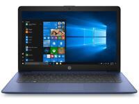 "HP Stream 14"" 14-cb116ds Intel Celeron N4000 4GB 64GB eMMC Win 10 S mode Blue"