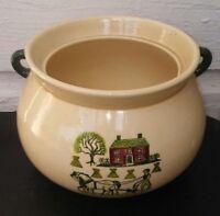Metlox Poppytrail HOMESTEAD PROVINCIAL Bean Pot Casserole Kettle Base Country