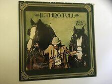 Jethro Tull signed lp by Ian Anderson Heavy Horses