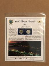 2009 U.S. Virgin Islands PCS Statehood P&D Quarter Collection Sheet
