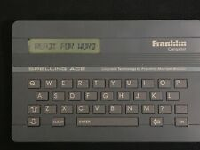 Franklin Computer Spelling Ace Sa-98 - Merriam-Webster Proximity - 1988 - Vtg