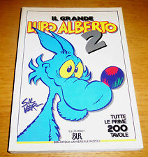 Il Grande LUPO ALBERTO 2 Tutte le prime 200 Tavole Silver 1°ediz. BUR 1992