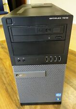 Dell Optiplex 7010 TWR i5-3470 3rd Gen Quad 3.2GHz, 8GB, 500GB Win 10 Installed