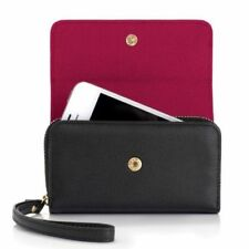 Knomo Genuine Leather Protective Case / Purse for iPhone 4 / 4S Black 90-945-BLK