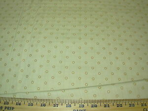 "~3 6/8 YDS~""POLKA DOTS""~EMBROIDERED UPHOLSTERY FABRIC~FABRIC FOR LESS~"