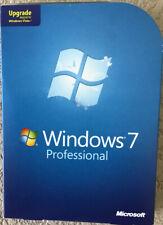 Microsoft Windows 7 Professional Pro Upgrade FQC-00130 GENUINE Product