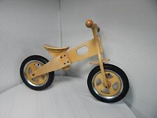 Hand Made Wooden Balance Child Learning Bike