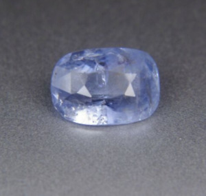 2.74CT CEYLON BIG FACE FANCY BLUE SAPPHIRE UNHEATED 100% NATURAL GEMSTONE