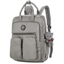 Women Backpack Multi-pocket Large Capacity Waterproof School Bags for Girl CA