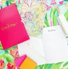 LILLY PULITZER BOXED COLLECTABLE SET OF 3 TRAVEL JOURNALS