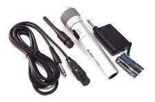 Wireless Microphone Speaker Karaoke Player Singing Wire Mic UK