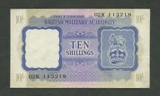 More details for british military authority  10 sh  wwii  krause m5  banknotes