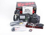 EXC++ CANON EOS REBEL T2i 18MP DSLR BODY, BATT+CHARGER+MANUAL+SD 35K ACTS, NICE!