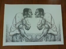 Me, Myself, and Why 1993 by Gilbert Young African american art poster