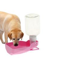 Hundetrinkflasche Hund Katze Reiseflasche Wasserflasche mit Trinknapf für