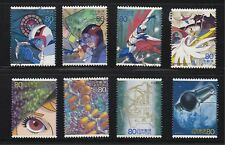 JAPAN 2004 SCIENCE TECHOLOGY & ANIMATION SERIES ISSUE 4 - GATCHAMAN SET 8 STAMPS