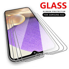 3PCS Tempered Glass Screen Protector Film For Samsung Galaxy A32 A52 A72 A42 S21