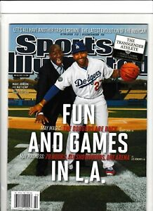 Matt Kemp Magic Johnson Sports Illustrated No Label Newsstand Issue