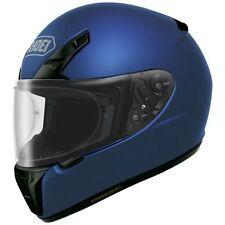 New XL Shoei RF-SR Full Face Motorcycle Riding Helmet Matte Blue SNELL/DOT