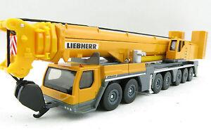 Siku 1886 - Liebherr LTM1400 Mobile Crane - Liebherr Yellow - Die-cast 1:87 NEW