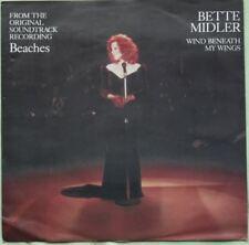 "Bette Midler  – The Wind Beneath My Wings  >7"" Vinyl Single 1989"