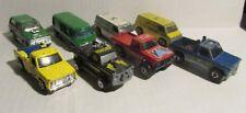 Vintage Matchbox Hot Wheels LOT of 8 PICK-UPS & VANS VG-/VG+