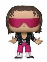 Funko Pop WWE Bret Hart With Jacket Vinyl Figure