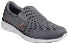 Scarpe Skechers Equalizer Double Play Memory Foam Uomo 51509 CCOR Mocassino 43